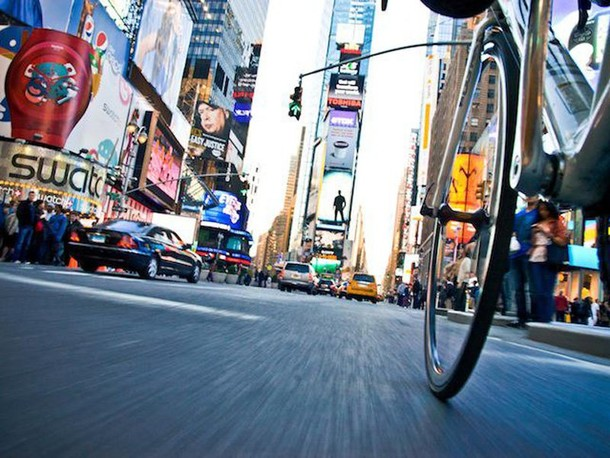 Many cities in the United States have begun to add bicycle lanes