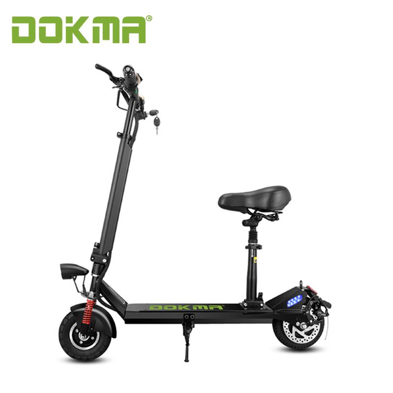 Dokma Fashionable electric scooter kick bike folding mobility e scooter